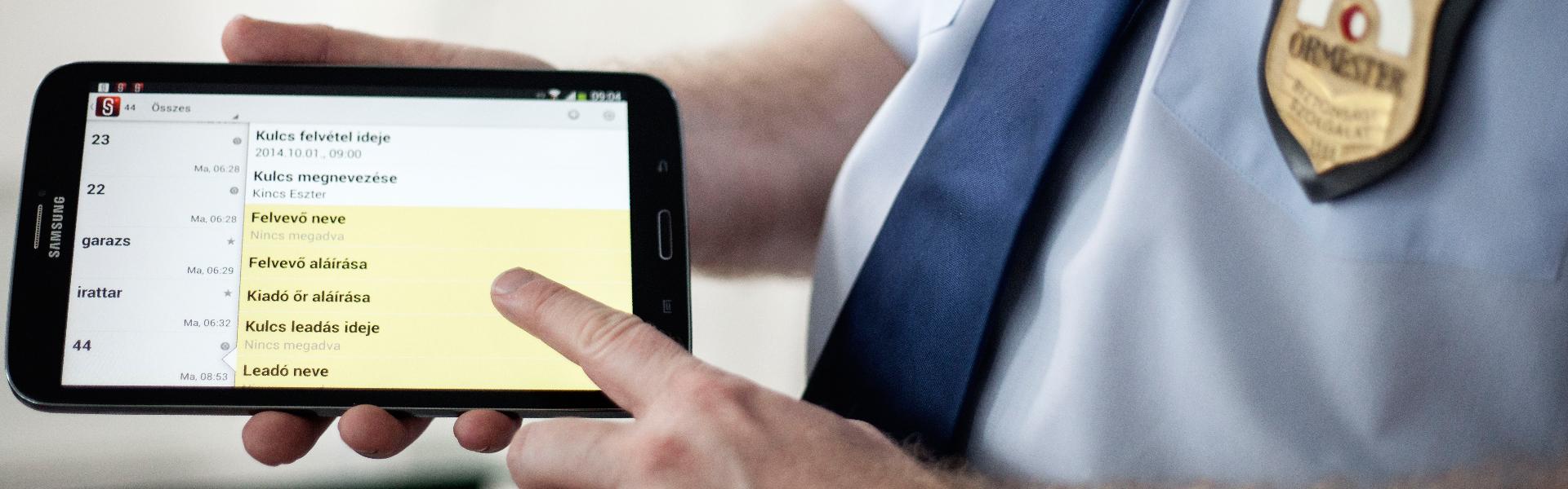digitális őrszolgálati napló