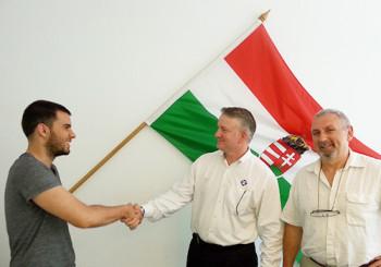 Szakmai konzultáció külföldi vendégünkkel