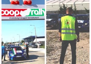 Mi biztosítottuk a Coop Rally versenyét